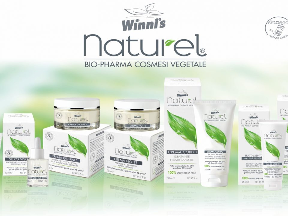 È nata la linea di cosmesi vegetale Winni's Naturel