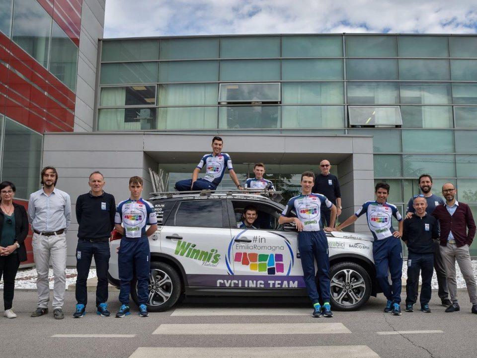 La Madel di Cotignola sale in bici con la squadra under 23 dell'Emilia Romagna