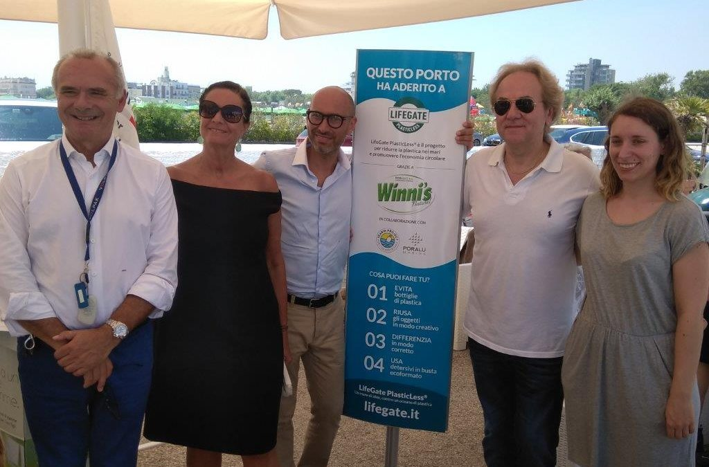 Winni's e LifeGate installano a Cervia il dispositivo Seabin