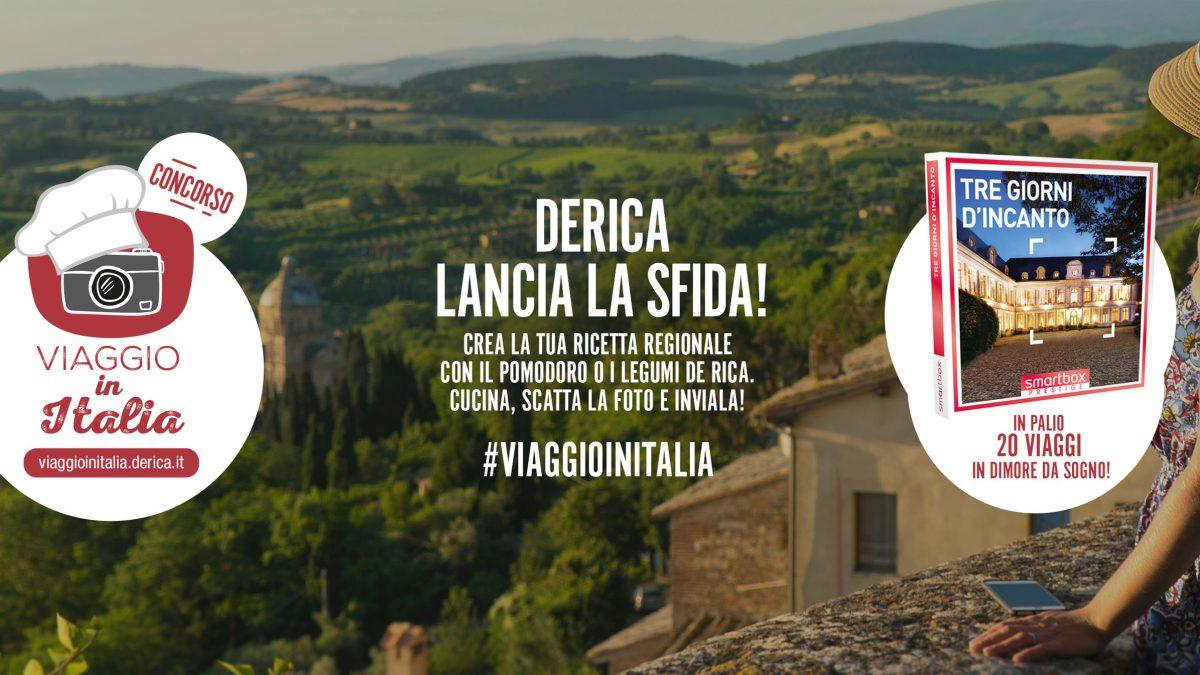 """De Rica lancia il concorso fotografico """"Viaggio in Italia"""""""