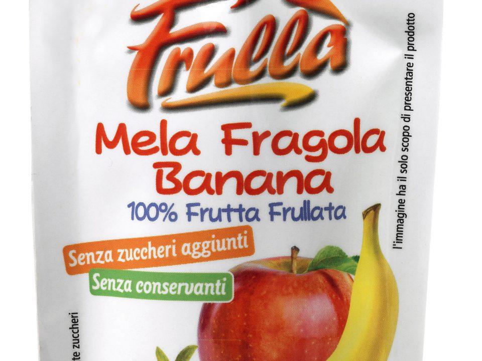 Frullà, 100% frutta fresca frullata nel comodo formato tascabile