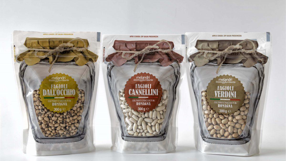 Packaging moderno per valorizzare il fagiolo di Romagna
