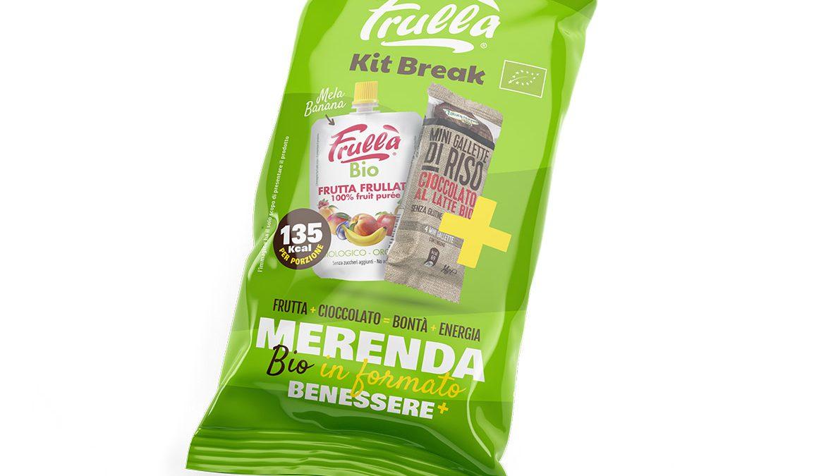 Frullà Kit Break: la buona merenda biologica e senza glutine