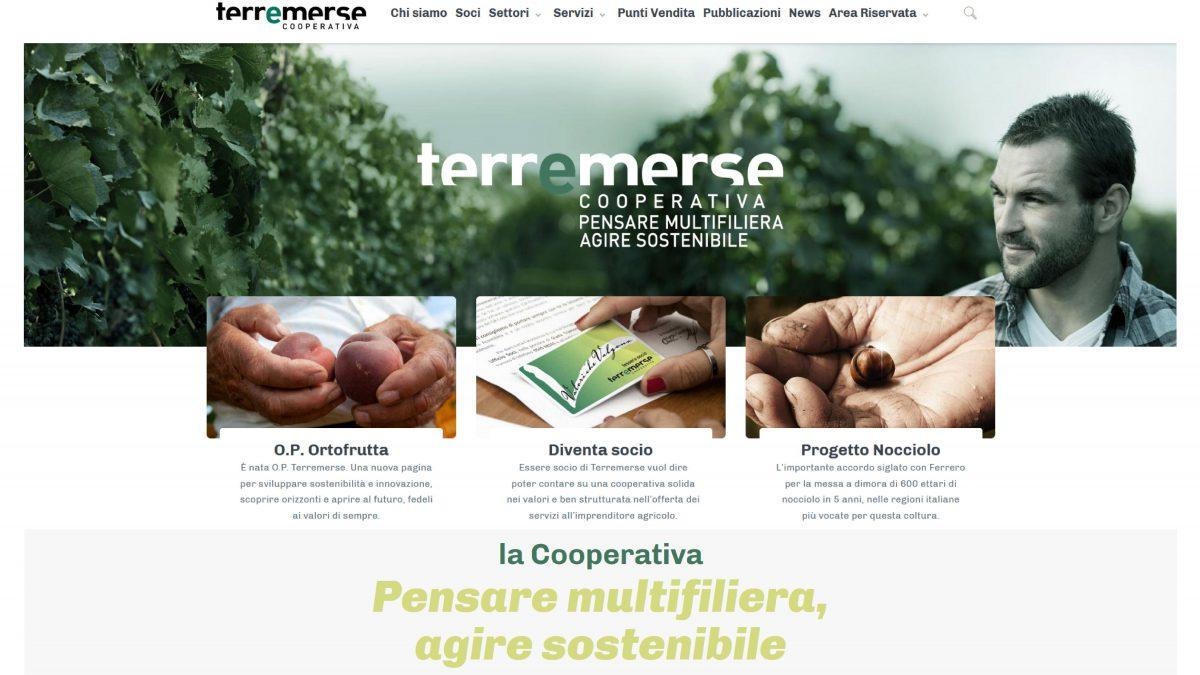 Nuova grafica e contenuti arricchiti per il sito di Terremerse